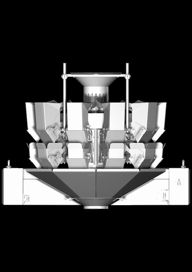 мультиголовочный комбинационный весовой дозатор амата скейл пологие скаты 10 карманов
