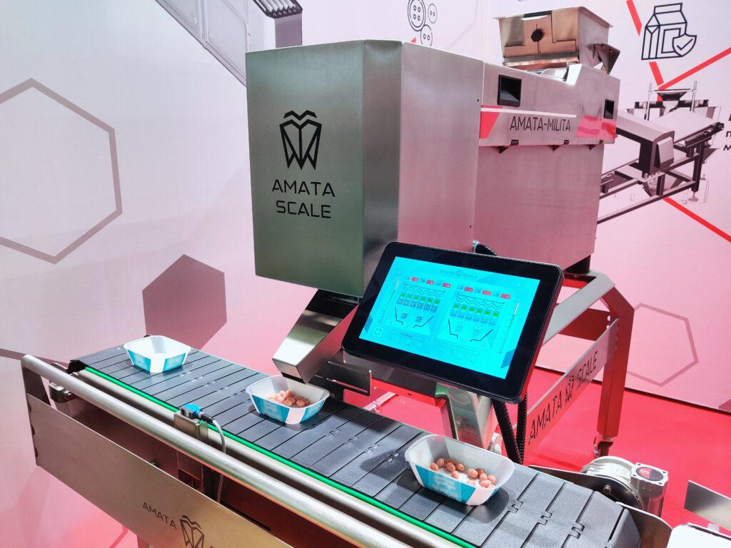 Счетный дозатор AMATA MILITA на выставке АГРОПРОДМАШ 2020