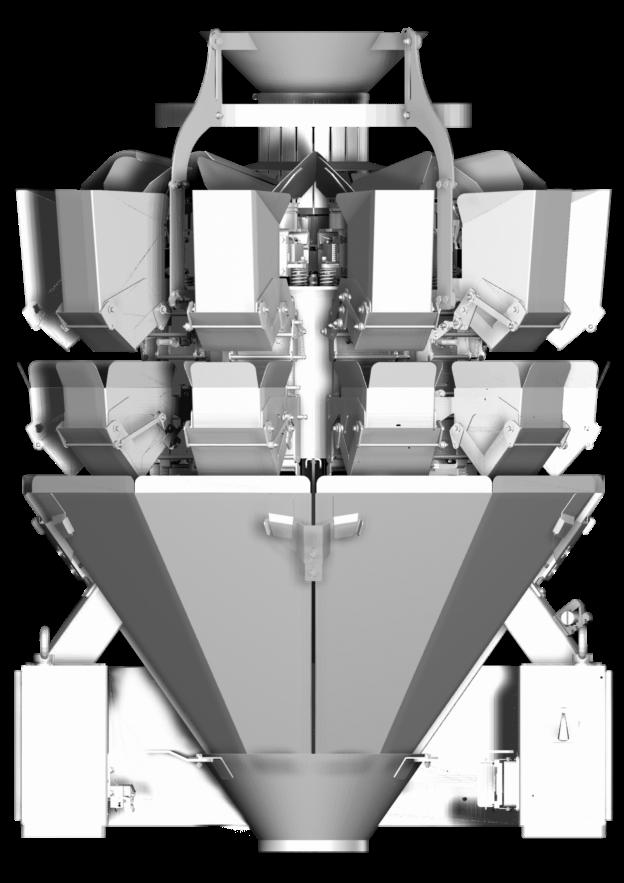 мультиголовочный комбинационный весовой дозатор амата скейл типовой 10 карманов