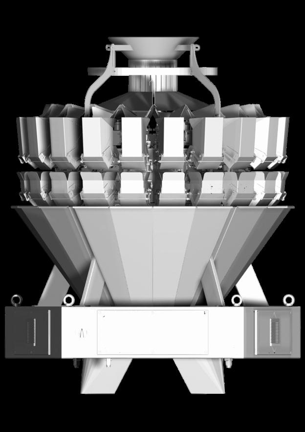 мультиголовочный комбинационный весовой дозатор амата скейл 20 карманов