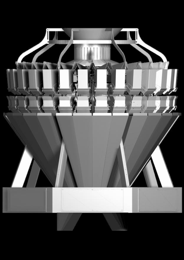 мультиголовочный комбинационный весовой дозатор амата скейл 28 карманов