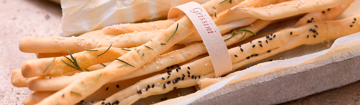 Breadsticks from sunny Italy