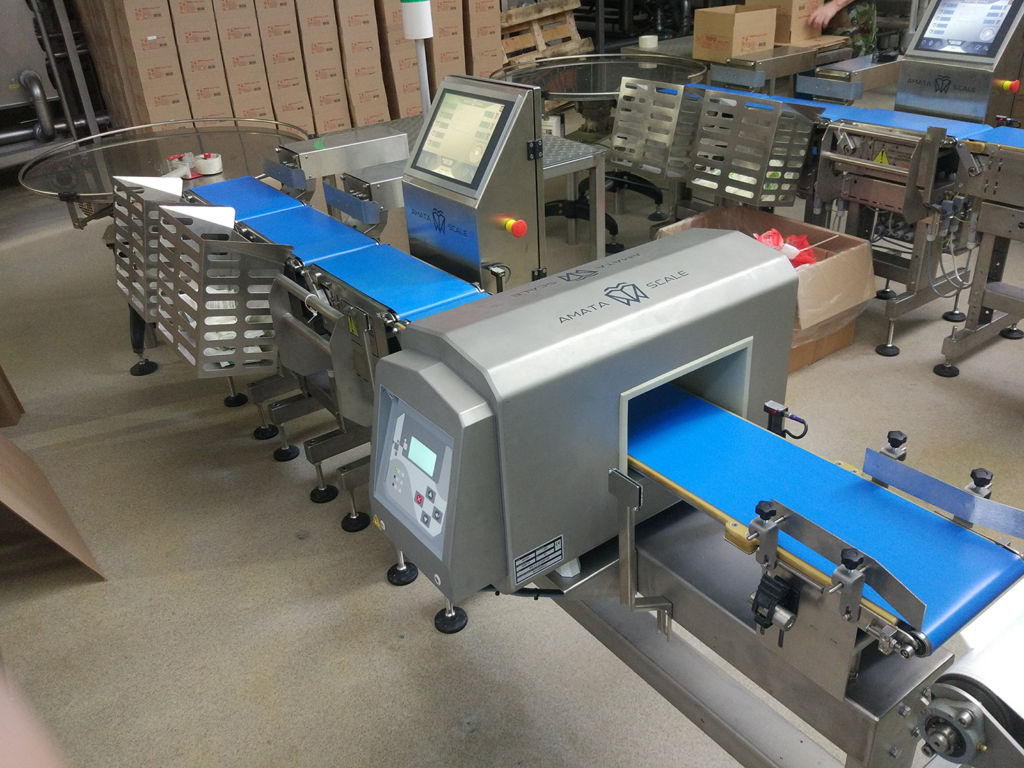 AMATA Dynamic scales (Conveyor scales or Checkweighers)